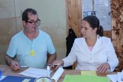 Horst Preisker und Melanie Polinelli