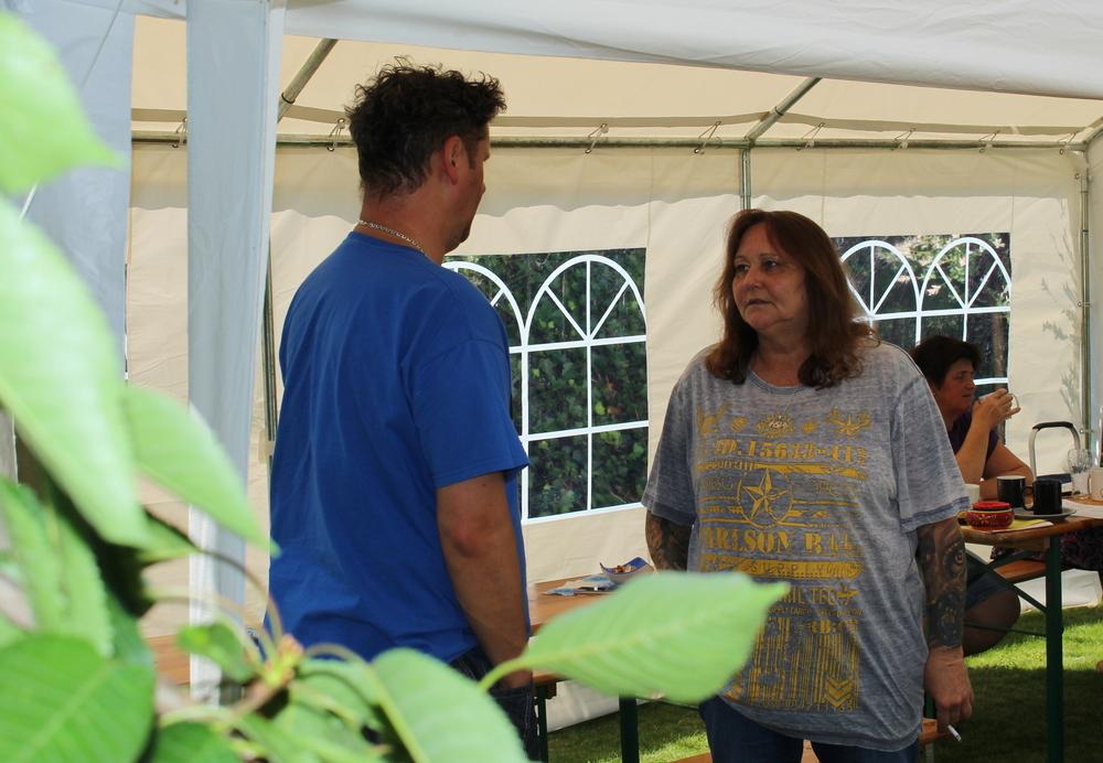 Tina und Fries Pelz ... die Gastgeber unseres Sommerfestes
